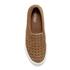 Lauren Ralph Lauren Women's Cedar Basket Weave Leather Slip-on Trainers - Polo Tan: Image 3