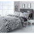 Catherine Lansfield Geo Spot Bedding Set - Black: Image 1