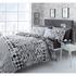 Catherine Lansfield Geo Spot Bedding Set - Black: Image 1