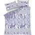 Catherine Lansfield Geo Spot Bedding Set - Blue: Image 2