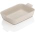Le Creuset Stoneware Medium Heritage Rectangular Roasting Dish - Almond: Image 1
