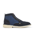 Kickers Men's Legendary Suede Lace Up Boots - Dark Blue: Image 1