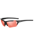 Tifosi Radius FC Sunglasses - Matte Black/Fototec High Speed Red: Image 1