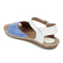 Clarks Women's Tustin Sinitta Leather Double Strap Sandals - Blue Combi: Image 6