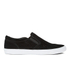 Clarks Women's Glove Puppet Suede Slip-On Trainers - Black: Image 1