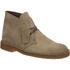 Clarks Originals Men's Desert Boots - Wolf Suede: Image 2