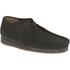 Clarks Originals Men's Wallabee Shoes - Black Suede: Image 2