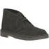 Clarks Originals Men's Desert Boots - Black Suede: Image 2