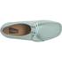 Clarks Originals Women's Wallabee Shoes - Light Blue: Image 3