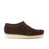 Clarks Originals Men's Wallabee Shoes - Dark Brown Suede: Image 1