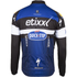 Etixx Quick-Step Long Sleeve Long Zip Jersey 2016 - Black/Blue: Image 2