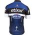 Etixx Quick-Step Short Sleeve Jersey 2016 - Black/Blue: Image 2