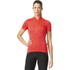 adidas Women's Response Team Short Sleeve Jersey - Shock Red: Image 3