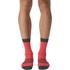 adidas Infinity 13 Socks - Shock Red/Dark Grey: Image 2