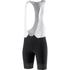 adidas Adistar Bib Shorts - Black/Vivid Red: Image 1
