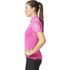 adidas Women's Climachill Short Sleeve Jersey - Shock Pink: Image 4
