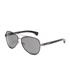 Calvin Klein Jeans Unisex Aviator Sunglasses - Gunmetal: Image 2