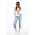 Wildfox Women's Queen of LA Sweatshirt - Pearl: Image 2