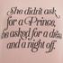Wildfox Women's Didn't Ask for a Prince Fleece Sweatshirt - Grapefruit: Image 3