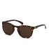 Calvin Klein Jeans Unisex Rectangle Sunglasses - Warm Tortoise: Image 2