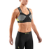 Skins DNAmic Women's Speed Crop Top - Black/Limoncello: Image 3
