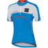 Sportful Gruppetto Children's Short Sleeve Jersey - Blue/White/Red: Image 1