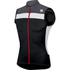 Sportful Pista Sleeveless Jersey - Black/White/Grey: Image 1