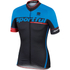 Sportful SC Team Short Sleeve Jersey - Black/Blue: Image 1
