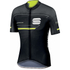 Sportful Gruppetto Pro Race Short Sleeve Jersey - Black/Grey/Yellow: Image 1