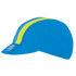Sportful BodyFit Pro Cap - Blue/Yellow - One Size: Image 1