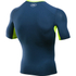 Under Armour Men's HeatGear CoolSwitch Compression Short Sleeve Shirt - Blackout Navy: Image 2