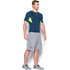 Under Armour Men's HeatGear CoolSwitch Compression Short Sleeve Shirt - Blackout Navy: Image 4