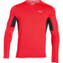 Under Armour Men's CoolSwitch Run Long Sleeve Top - Red: Image 1