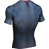 Under Armour Men's Transform Yourself Superman Compression Short Sleeve Shirt - Navy Blue: Image 2