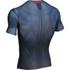 Under Armour Men's Transform Yourself Superman Compression Short Sleeve Shirt - Navy Blue: Image 2