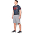 Under Armour Men's Transform Yourself Superman Compression Short Sleeve Shirt - Navy Blue: Image 4