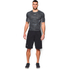 Under Armour Men's HeatGear CoolSwitch Compression Short Sleeve Shirt - Grey: Image 3