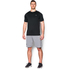 Under Armour Men's Raid Short Sleeve T-Shirt - Black/Grey: Image 3