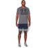 Under Armour Men's Mirage 2 in 1 Training Shorts - Navy Blue: Image 3