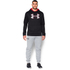 Under Armour Men's Storm Armour Fleece Big Logo Twist Hoody - Black: Image 3