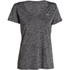 Under Armour Women's Twist Tech V Neck T-Shirt - Black: Image 1