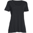 Under Armour Women's Studio Oversized Short Sleeve T-Shirt - Black: Image 1