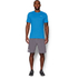 Under Armour Men's Streaker Run Short Sleeve T-Shirt - Blue: Image 3