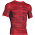 Under Armour Men's HeatGear CoolSwitch Compression Short Sleeve Shirt - Red: Image 1