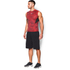Under Armour Men's HeatGear CoolSwitch Compression Tank Top - Red: Image 4