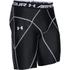Under Armour Men's HeatGear Armour Compression Shorts - Black: Image 1