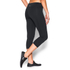Under Armour Women's Mirror Crop Leggings - Black: Image 4