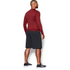 Under Armour Men's ColdGear Armour Twist Compression Crew Top - Red/Black: Image 5