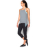 Under Armour Women's Studio Flowy Tech Tank Top - Grey: Image 4