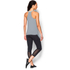 Under Armour Women's Studio Flowy Tech Tank Top - Grey: Image 5